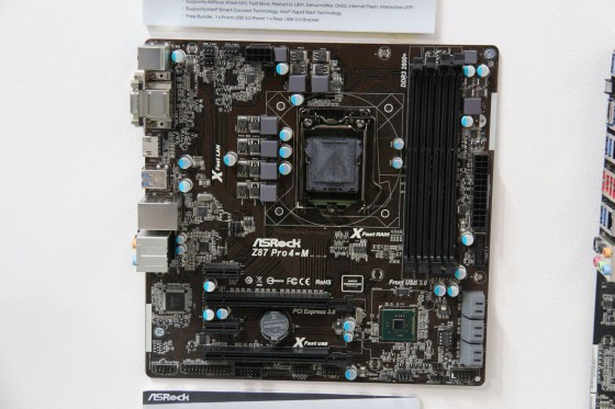 cebit 2013 asrock cartes meres haswell