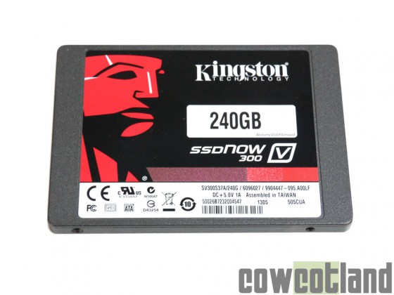cowcotland test ssd-kingston-v300 240-go