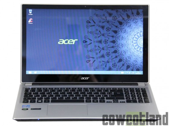 cowcotland test portable acer aspire v5 touch