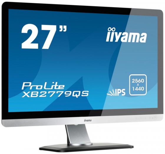 Iiyama un 27 pouces en 2560 x 1440 ecrans moniteurs for Test ecran 27 pouces
