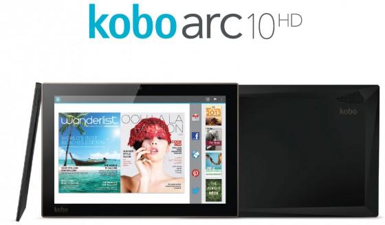 kobo arc 10hd une tablette haut de gamme en tegra 4 tablettes. Black Bedroom Furniture Sets. Home Design Ideas