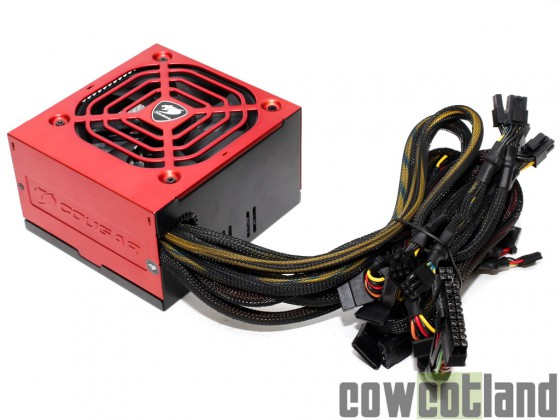 cowcotland test alimentation cougar power x 700 watts