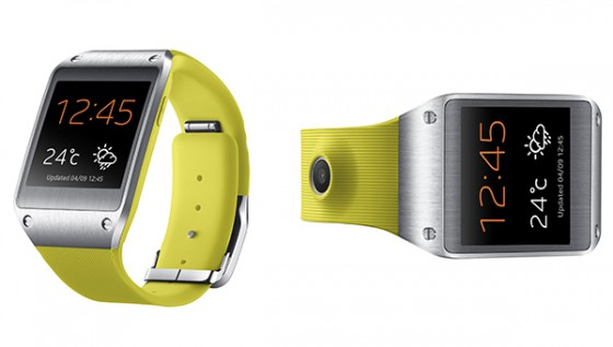 samsung galaxy-gear montre-connectee images caracteristiques 249-euros