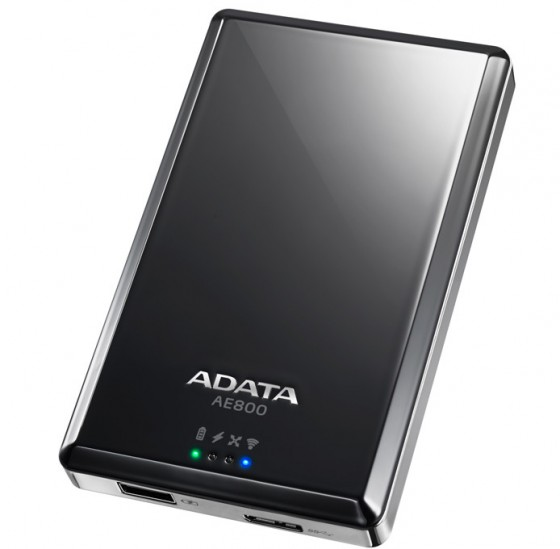 a-data dashdrive air ae800 disque dur wifi faisant office power bank