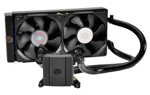 watercooling cooler-master glacer-240l test hitech-legion
