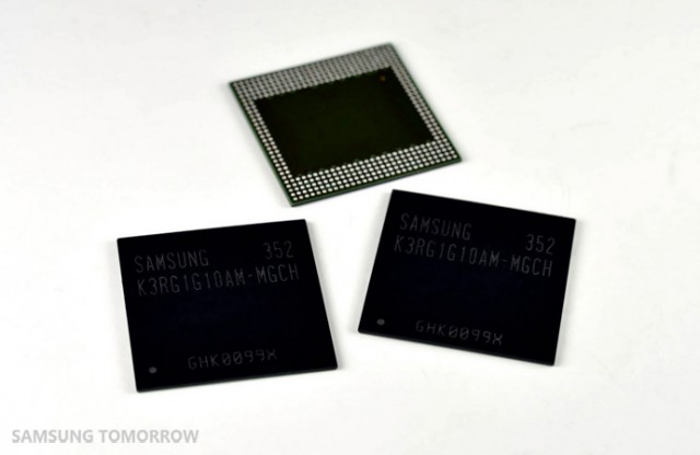 samsung modules ddr4 go smartphones