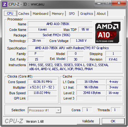 world record overclocking a10-7850k msi-gaming