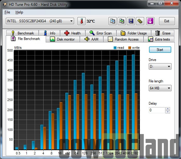 cowcotland preview ssd intel 730 series 240 go