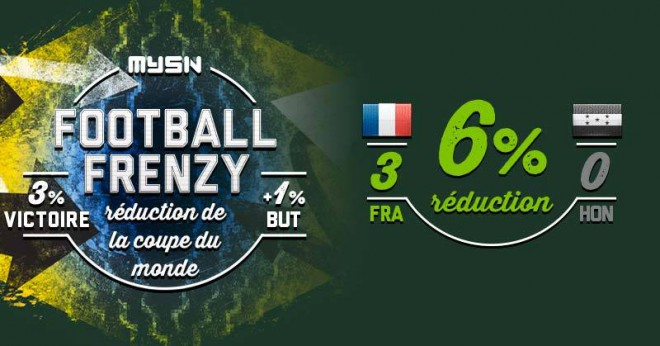 xmg propose reductions cas victoire equipe france football