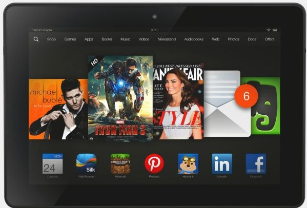 amazon prepare kindle fire hdx 2 haut gamme
