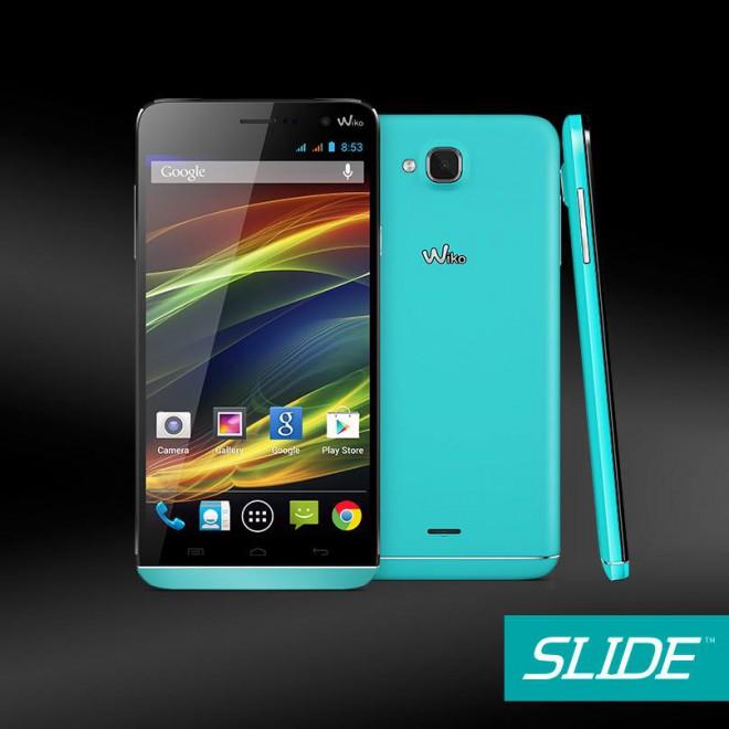 wiko slide un smartphone android de 5 5 pouces 169. Black Bedroom Furniture Sets. Home Design Ideas