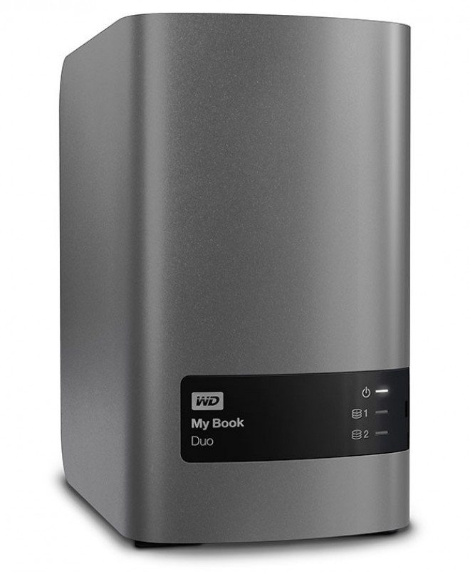 western digital lance le my book duo 12 to disques durs. Black Bedroom Furniture Sets. Home Design Ideas