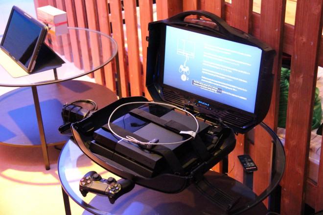 gc 2014 gaems des valises avec cran int gr pour tes consoles articles divers. Black Bedroom Furniture Sets. Home Design Ideas