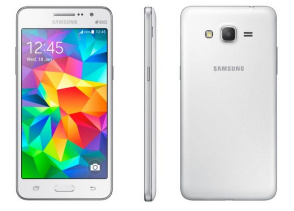 samsung officialise son selfies phone galaxy prime t l phones portables. Black Bedroom Furniture Sets. Home Design Ideas