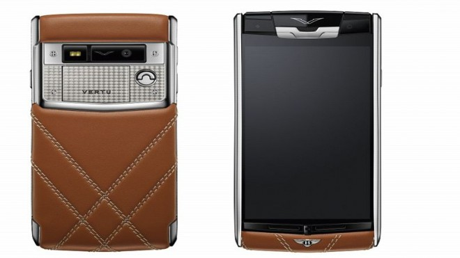 bentley s 39 associe vertu pour un smartphone haut de gamme. Black Bedroom Furniture Sets. Home Design Ideas