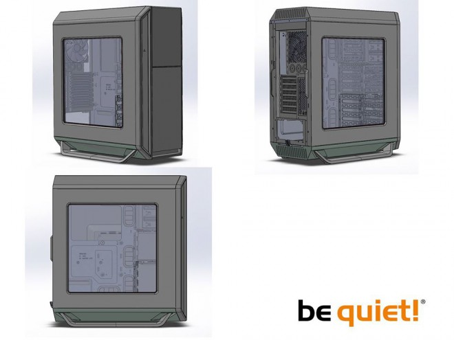 boitier be-quiet silent-base-800 fenetre plexy