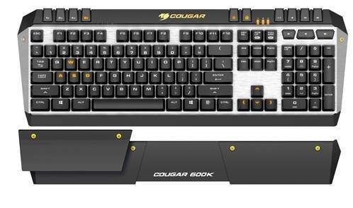 clavier mecanique cougar 600k 4 versions switchs cherry mx
