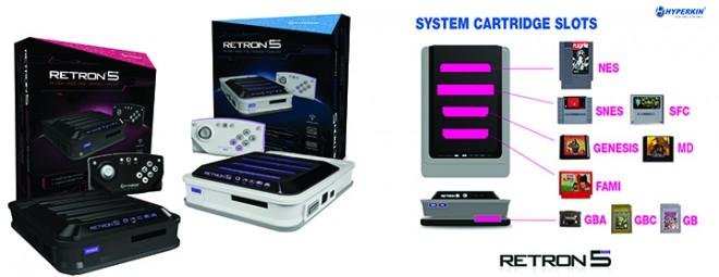 retron 5 7 consoles r tro en une jeux pc consoles. Black Bedroom Furniture Sets. Home Design Ideas
