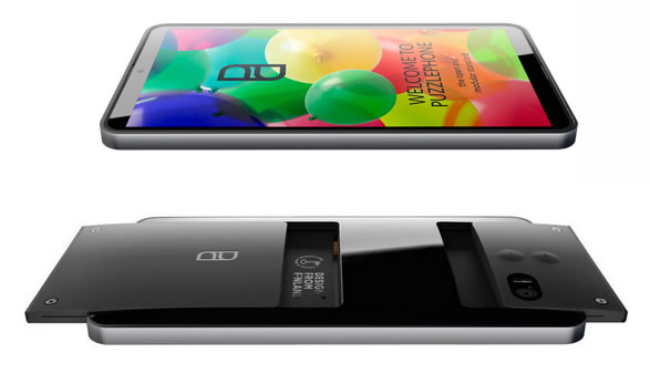 puzzlephone un nouveau smartphone base de trois blocs t l phones portables. Black Bedroom Furniture Sets. Home Design Ideas
