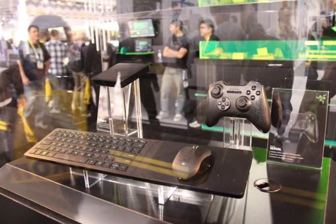 Ces 2015 razer propose sa console de salon force tv avec des accessoires salons - Console de salon android ...