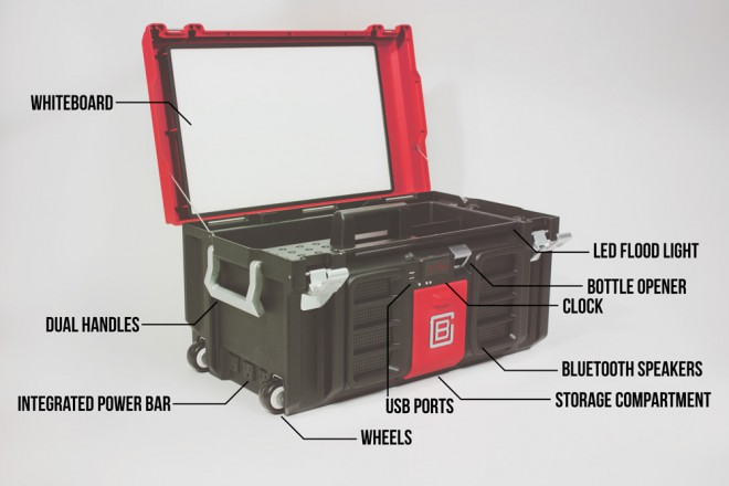 projet indiegogo coolbox boite outils 2 0