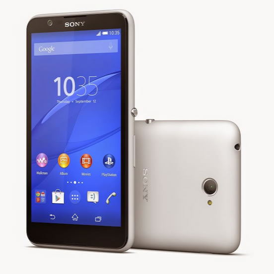 sony officialise xperia e4