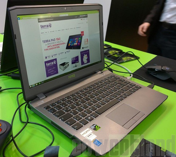 cebit 2015 xmg presente pc portable gamer 13 3 pouces advanced a305