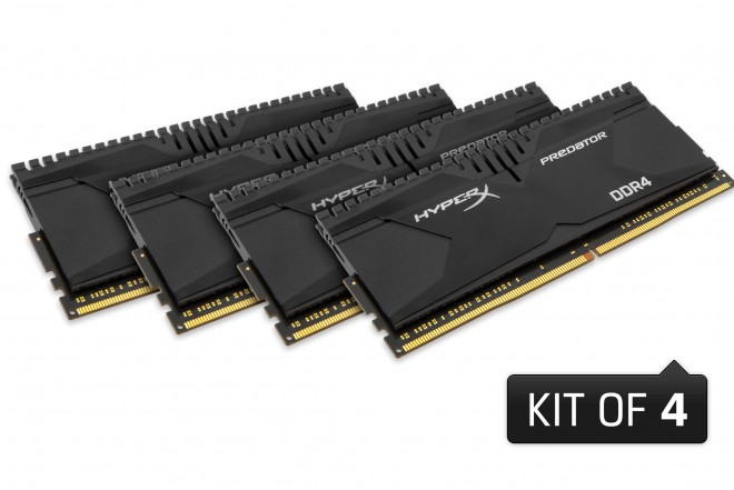 kingston kits-ddr4 hyperx-fury-predator