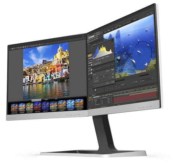 Philips two in one lcd monitor un double cran orient pro for Ecran photo pro