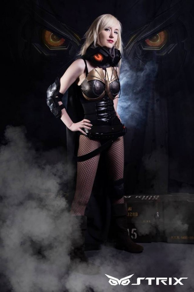asus publicite-strix cosplay-kelly-jean