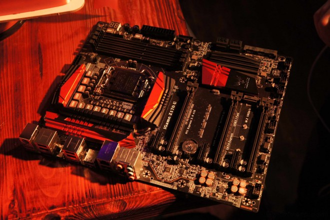 colorful igame-z170 premiere carte mere skylake devoilee