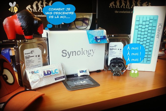concours ldlc gagner 1 nas synology diskstation ds215j 2 disques durs seagate nas hdd 2 to 1 casquette nintendo goomba