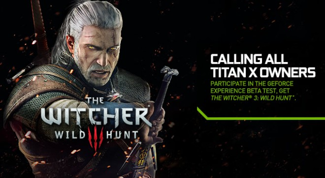 si as titan x the witcher iii wild hunt auras gratuitement