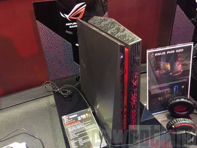 computex 2015 asus rog g20 offre version ultime skylake titan x