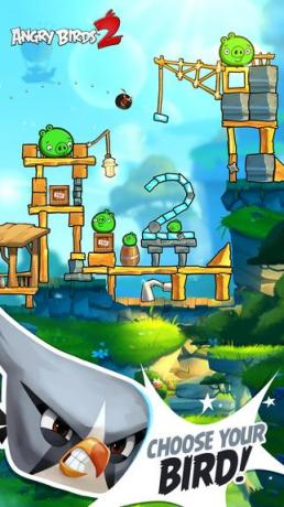 angry birds 2 catapultage reussi