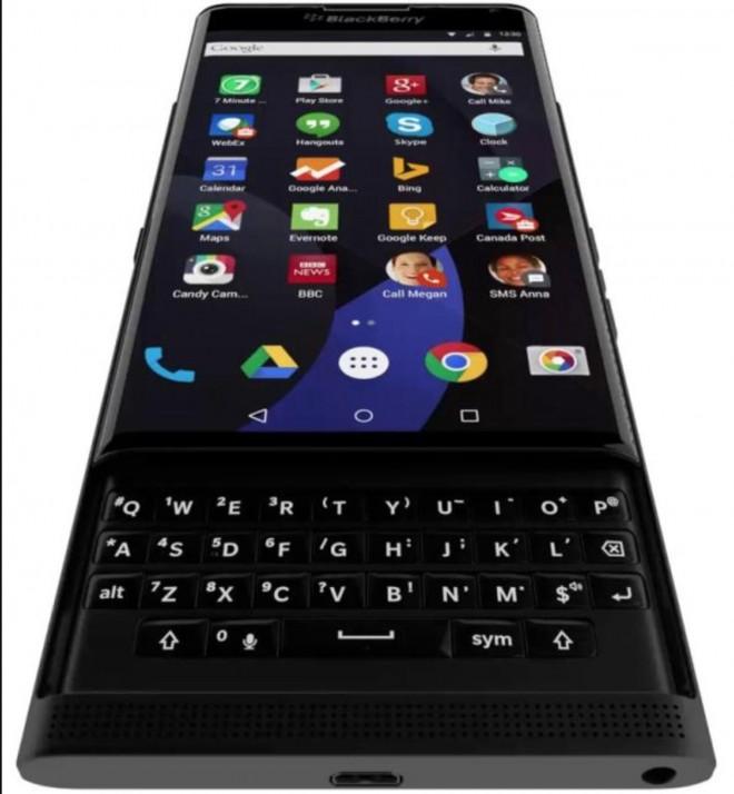 Blackberry venice un cran incurv et un clavier for Photo ecran blackberry