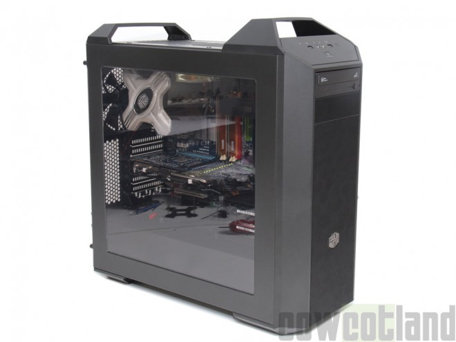 test boitier cooler master mastercase 5 bo tiers racks. Black Bedroom Furniture Sets. Home Design Ideas