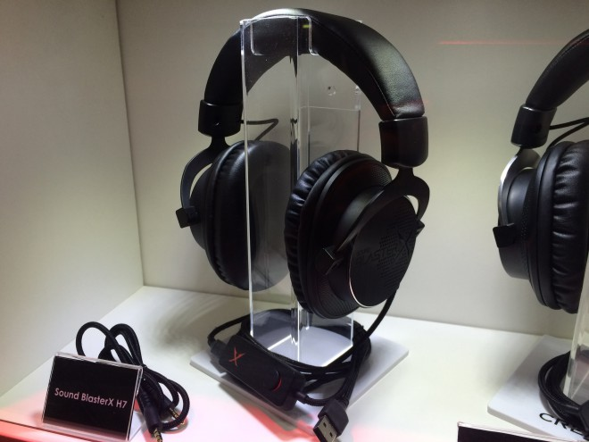 gamescom 2015 blasterx ligne casque gamer sound blaster