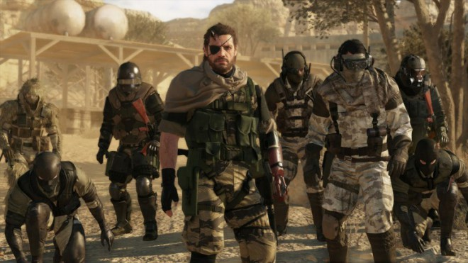 mode online metal gear solid 5 repousse