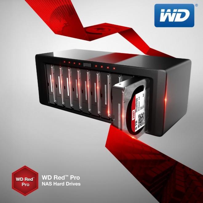 western digital annonce galement le disque dur wd red pro 6 to pour les nas disques durs. Black Bedroom Furniture Sets. Home Design Ideas