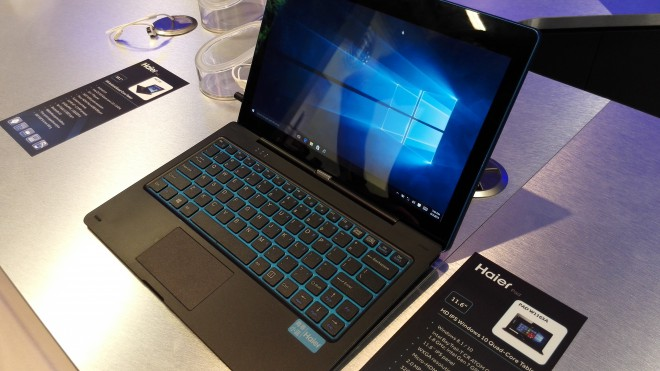 ifa 2015 tablettes windows seduisantes haier