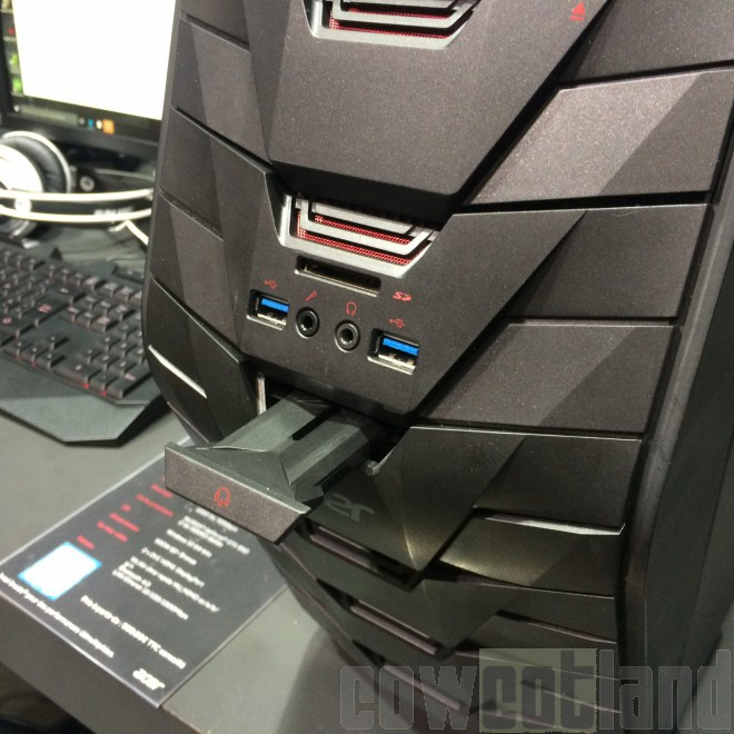 pgw 2015 le pc gamer predator g3 chez acer pc mini pc. Black Bedroom Furniture Sets. Home Design Ideas