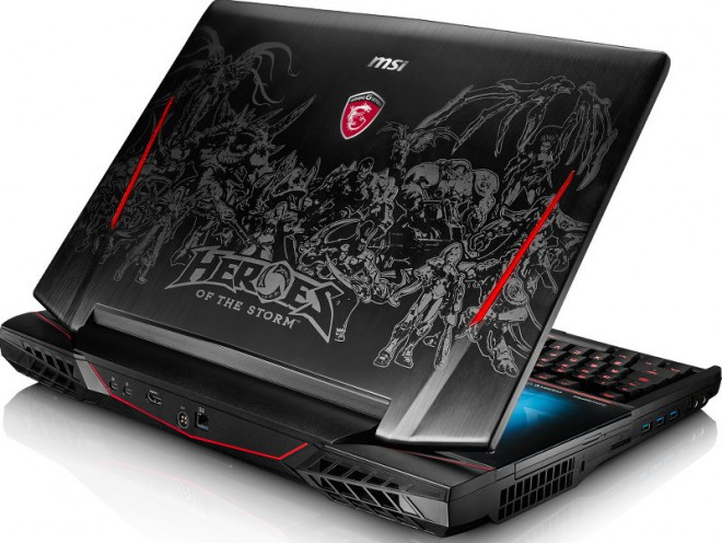 pc portable gamer msi habille ses ge62 gt72 et gt80 avec heroes of the storm de blizzard. Black Bedroom Furniture Sets. Home Design Ideas