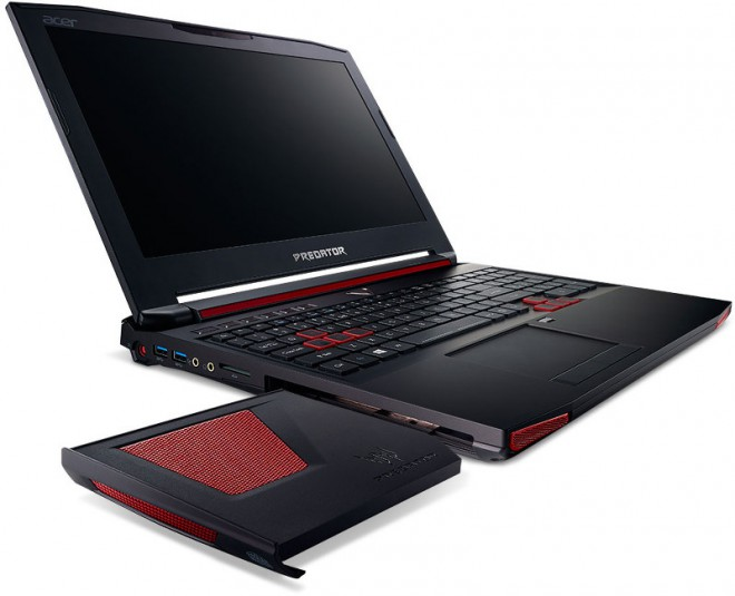 les pc portables gamer acer predator g9 s 39 invitent sous le. Black Bedroom Furniture Sets. Home Design Ideas