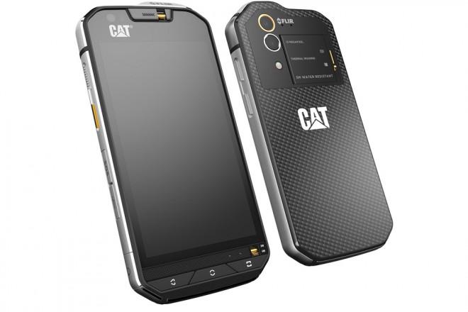 cat s60 le premier smartphone avec cam ra thermique t l phones portables. Black Bedroom Furniture Sets. Home Design Ideas