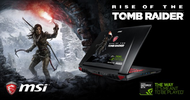 concours msi fiat gagner gt72 dominator rise the tomb raider