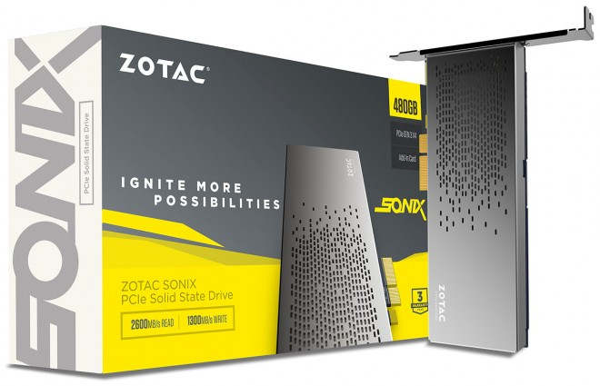 zotac annonce ssd pcie sonix extremement veloce