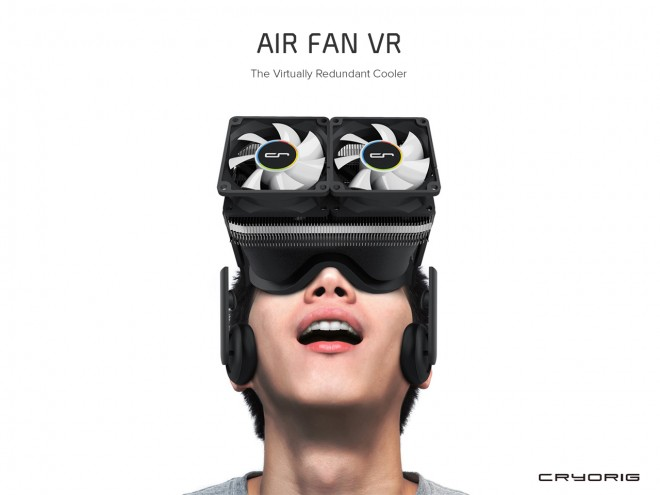 cryorig met heure realite virtuelle air fan vr