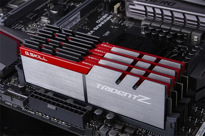 G Skill lance un kit Trident Z DDR4 3600 MHz CL15 - Mémoire
