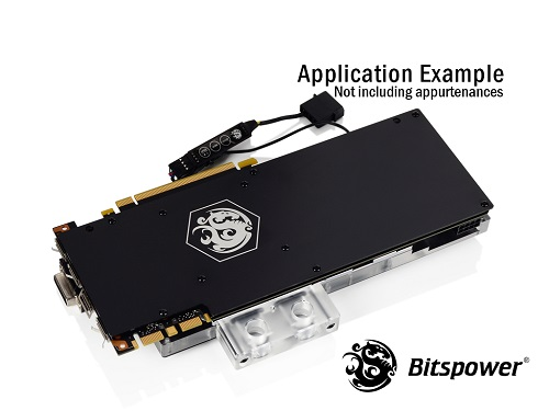 bitspower waterblock haut couleur gtx 1080